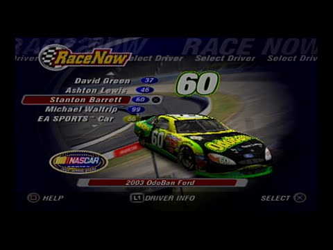 NASCAR Thunder 2004  Stanton Barrett @ Watkins Glen