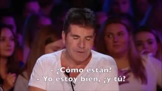 Simon Cowell llora en esta audición - subtitulado Español