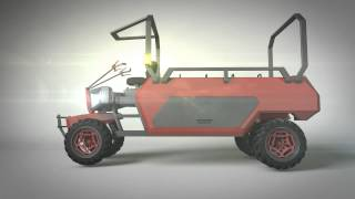 Agricultural vehicle for people in India