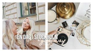EN DAG I STOCKHOLM + VINN EN INSTAXKAMERA!