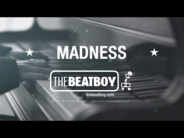 🔶MADNESS🔶 - Hip hop Rap Soul Piano Emotional RnB Beat Instrumental (Prod: THEBEATBOY)