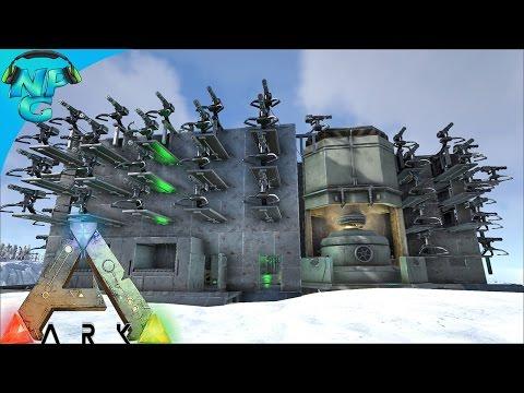 The New Base Showcase and Lava Cave PVP! ARK Survival Evolved - PvP Season 2 E4