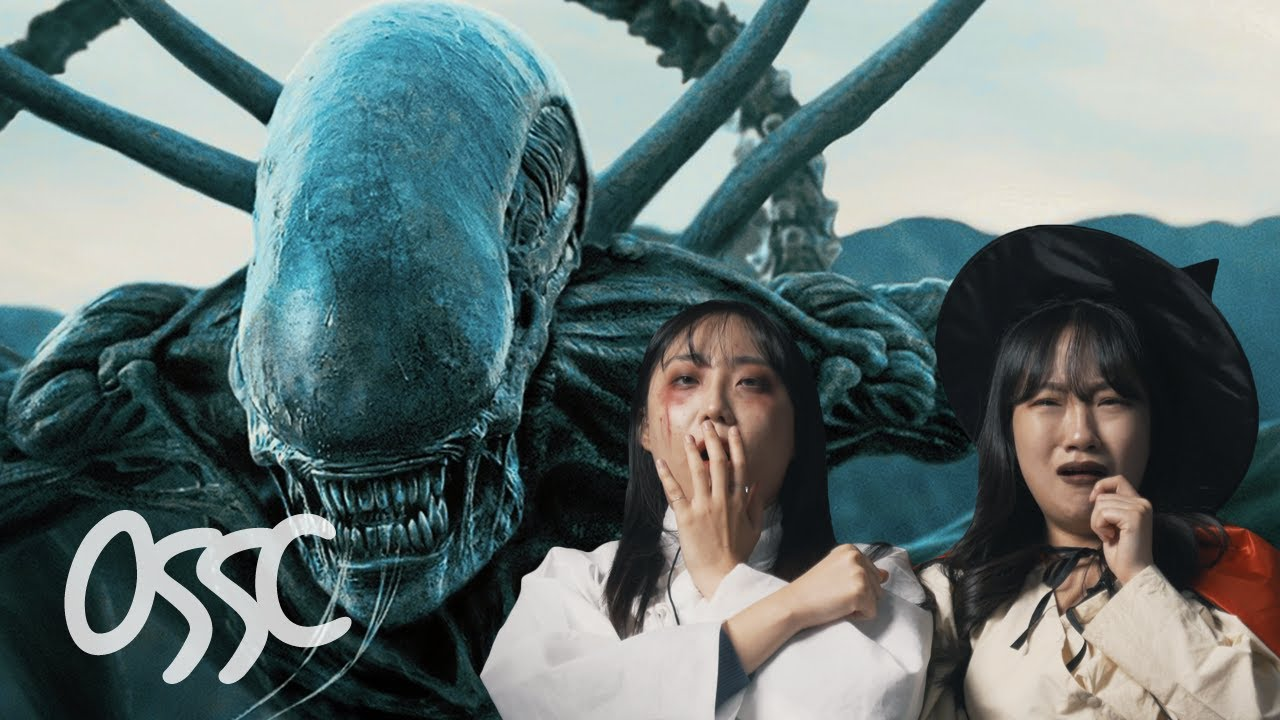 Korean Girls React To 'The Best Monster Movies' In The World (With Halloween Costumes)