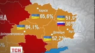 Більшість людей на південному Сході не хочуть у Росію -- соціологи