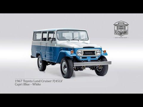 1967 Toyota Land Cruiser FJ45LV - Restoration by The FJ Company