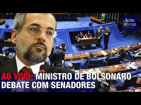 Ao Vivo Ministro Da Educação De Bolsonaro Abraham