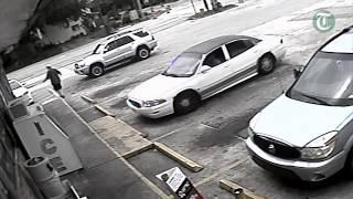Video surveillance of Michael Drejka's fatal shot to Markeis McGlockton