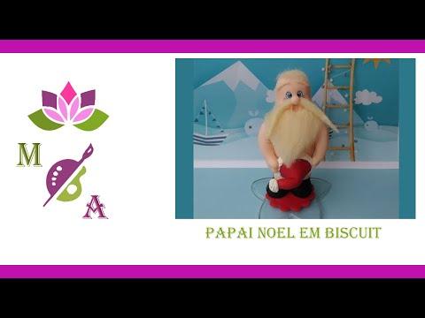 Papai Noel em Biscuit