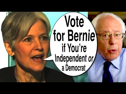 Jill Stein Says Vote for Bernie in California Primary if you