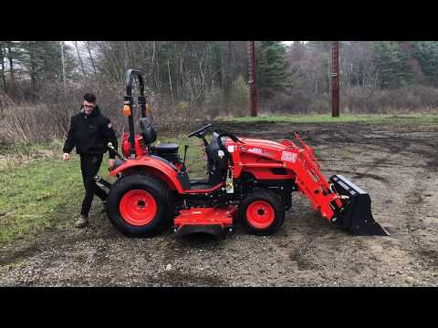 How Does a Compact Tractor Mow on Hills? - Kioti CK2510