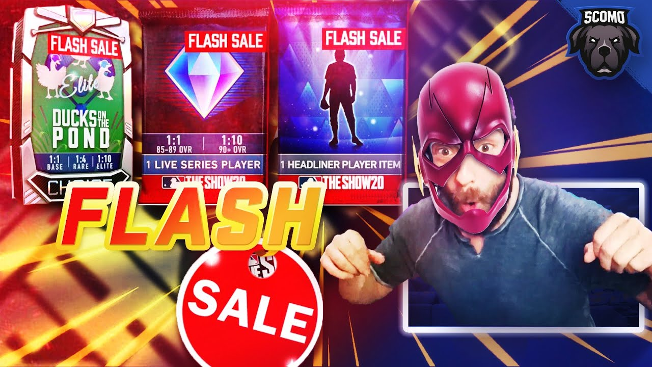 BEST FLASH SALE YET? ALL 3 ROUNDS OF PACKS [MLB The Show 20]
