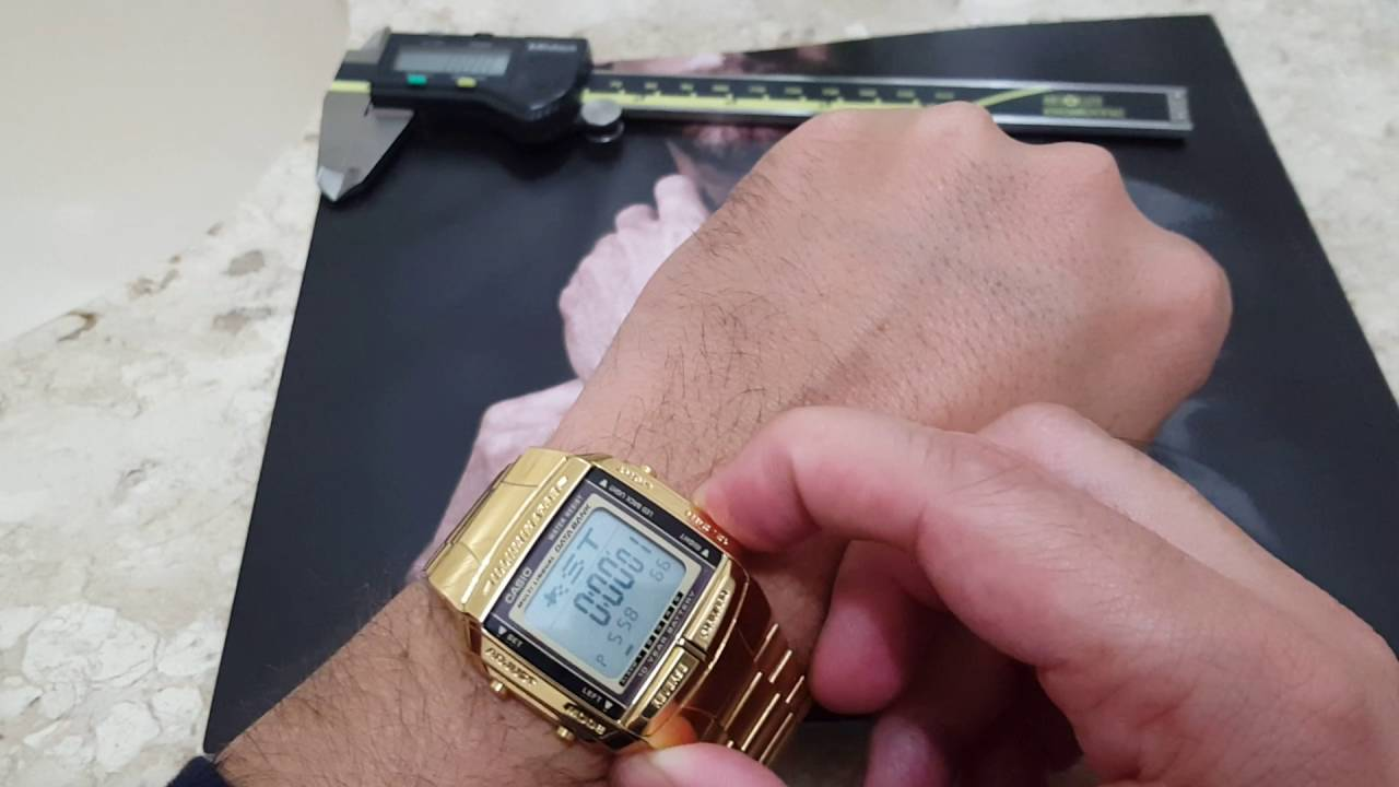c72222c842e Relógio casio digital data Bank retro db-360g-9adf Link de venda abaixo. -  YouTube