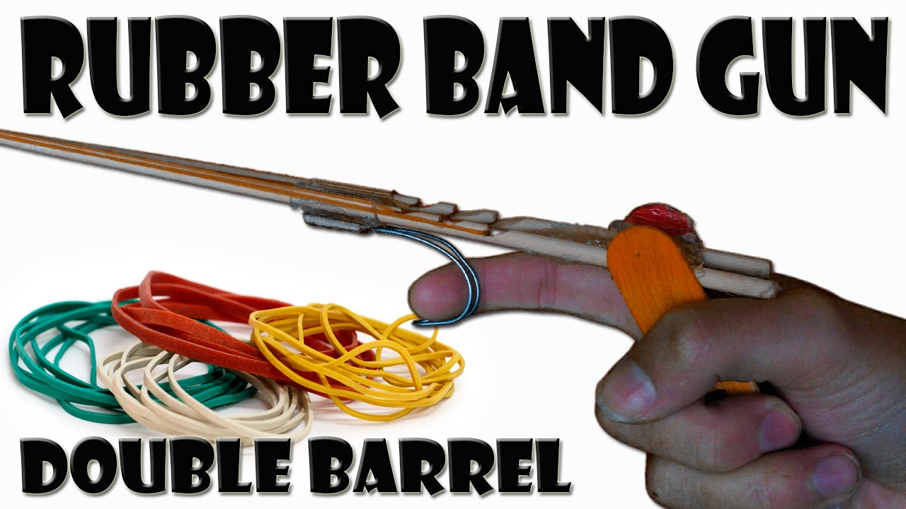 how to build a rubber band gun