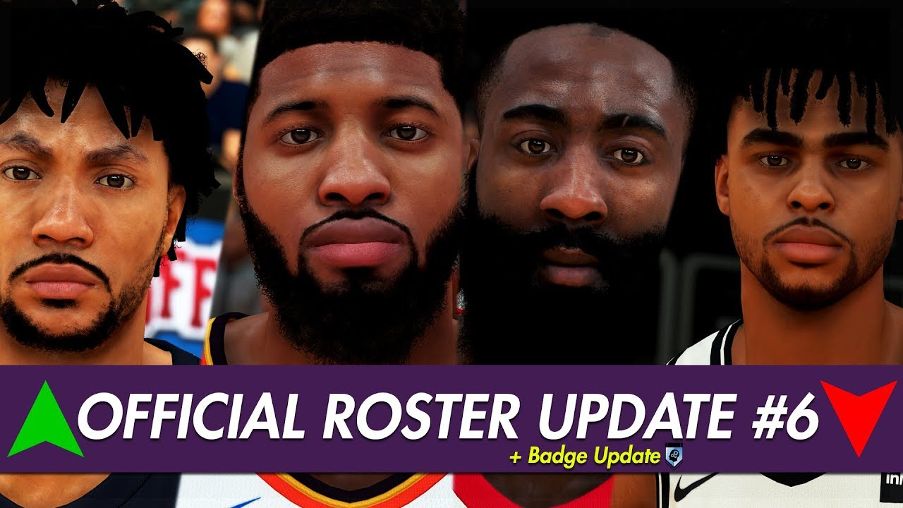 NBA 2K19 - Official Roster Ratings & Badges Update #6   ALL-STAR EDITION