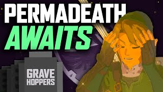 The Perma-death Trek To Hyrule Castle - Zelda Breath Of The Wild - GraveHoppers Ep. 8