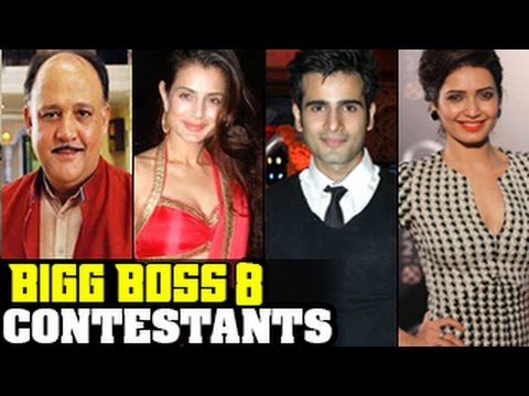 Bigg Boss 8 CONTESTANTS REVEALED | Must Watch