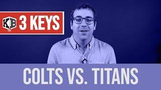 3 Keys for Colts vs. Titans