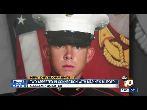 Two arrested in connection with gruesome death of a Camp Pendleton Marine