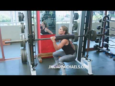 TOP SMITH MACHINE EXERCISES FOR BOOTY - JILLIAN MICHAELS