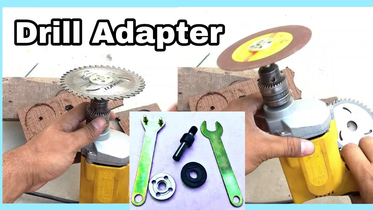 Electric Drill Variable Angle Grinder Connect Rod Round Handle Converter Tools