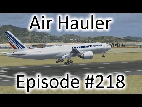 FSX | Air Hauler Ep. #218 - Iquique Back to Lima | 777F