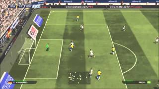 PES 2015: Demo Gameplay (HD) - Germany vs Brazil - Gamescom 2014