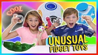 Video MOST UNUSUAL FIDGET TOYS | We Are The Davises download MP3, 3GP, MP4, WEBM, AVI, FLV Agustus 2018