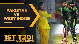 Pakistan vs West Indies | 1st T20I Highlights | PCB | MA2E