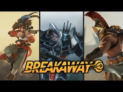 """""""BreakAway"""" First Look! Free To Play Sport MOBA"""