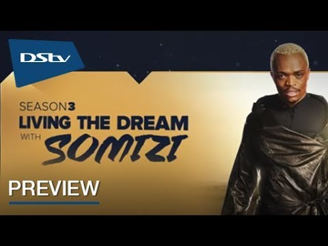Somgaga is back in Living The Dream With Somizi on Mzansi Magic  DStv