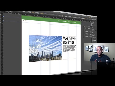 How To Create A Scrolling Window Effect in Adobe Muse CC