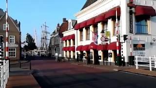 Onderweg in Friesland ..welkom in Harlingen.