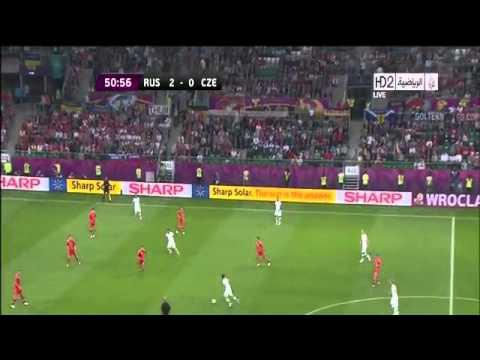 Russia 4 - 1 Czech Rep Full Highlights. (EURO2012)