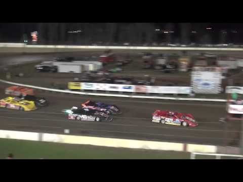 IMCA Deery Brothers Late Model Summer Series feature Farley Speedway 4/17/15