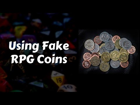 Using Fake RPG Coins