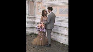 Евгений Пронин и Кристина Арустамова – видео со свадебной фотосессии
