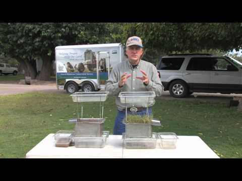 Visualizing Soil Properties: Surface Cover and Runoff