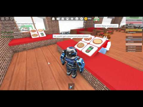 IM THE MANAGER! (Roblox Work At A Pizza Place)