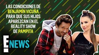 Las condiciones de Benjamín Vicuña para que sus hijos aparezcan en el reality show de Pampita