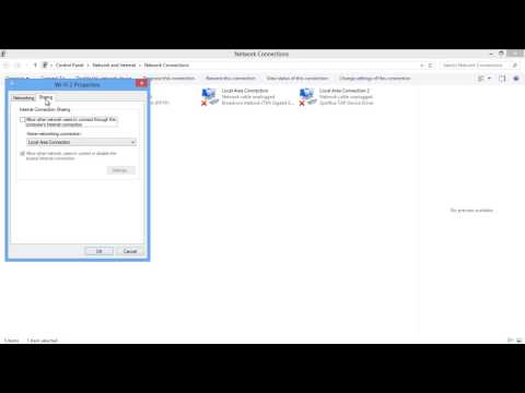 How To Disable Internet Connection Sharing