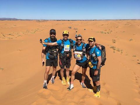 Marathon des Sables 2018 :  les Zinzins dans le désert