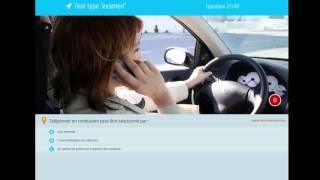 Examen code de la route 2018 - Série de 40 questions avec correction. Permis de conduire