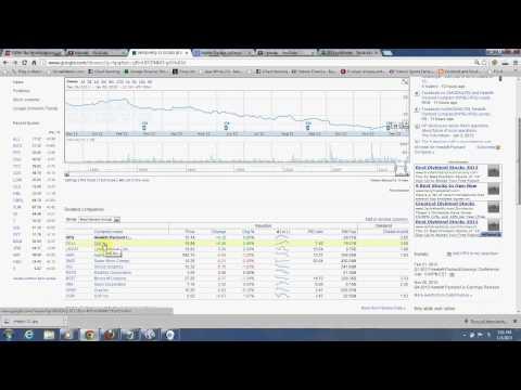 Stock Market simulator that I use to train myself on investing
