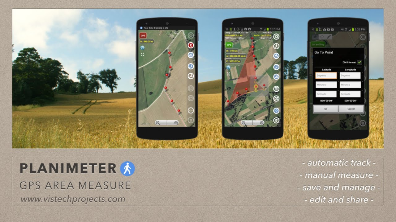 Area calculator area calculations - Planimeter Gps Area Measure All Kinds Of Measurements On Google Maps Using Android And Gps Youtube