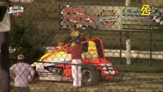 New Egypt Speedway Highlights flips crashes 6-24-17