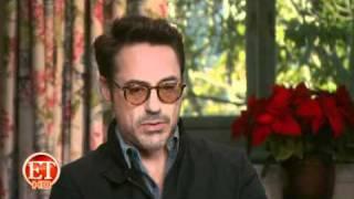 Downey Had His 'Heart Set on' Scenes in Drag   ETonline.com.