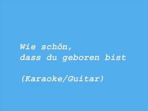 wie schön du bist karaoke