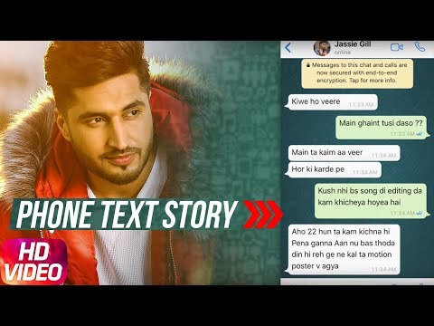Phone Text Story | Jodi Teri Meri | Jassie Gill | Tru Makers | Releasing on 10th April 2018