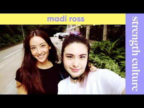 Madi Ross interview - anorexia, becoming a top model, social media, anxiety, yoga