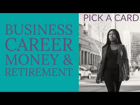 BUSINESS, CAREER, MONEY & RETIREMENT.